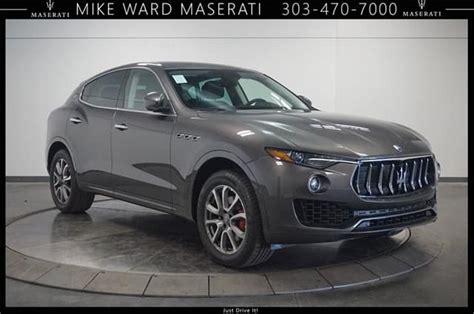 2019 Maserati Suv by 2019 Maserati Levante Awd Suv Lease Offer Near Denver