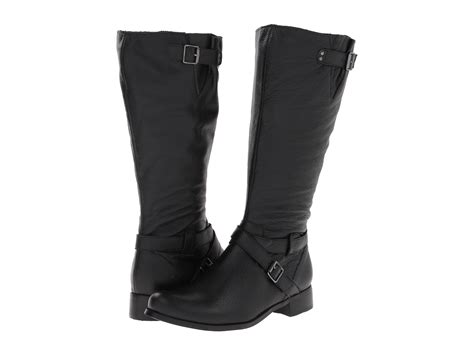 fitzwell maggie wide calf boot shipped free at zappos