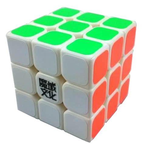 Bulk Store by Moyu Mini Aolong Speed Cube 54 5mm White 3x3x3 Cubezz Com