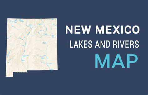 mexico lakes  rivers map gis geography