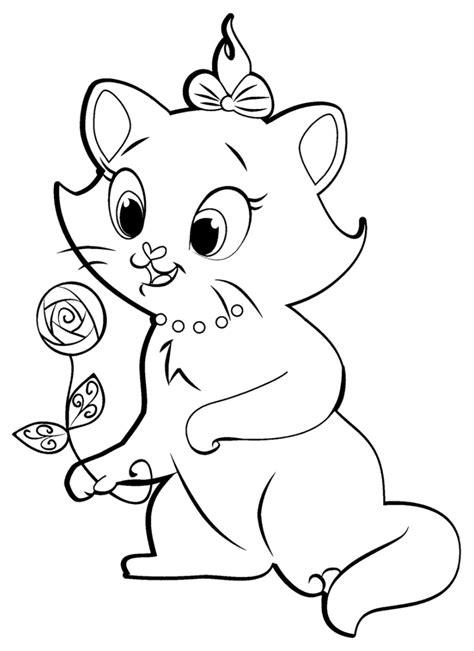 coloriage de les aristochats  colorier pour enfants