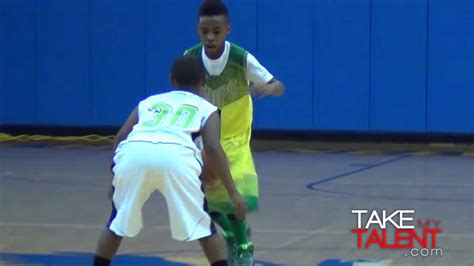 lebron jr is pretty at basketball abc news