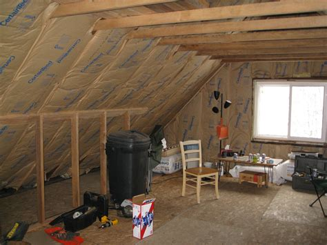 How To Frame A Room by Rfz Based Room In An A Frame Attic Page 2