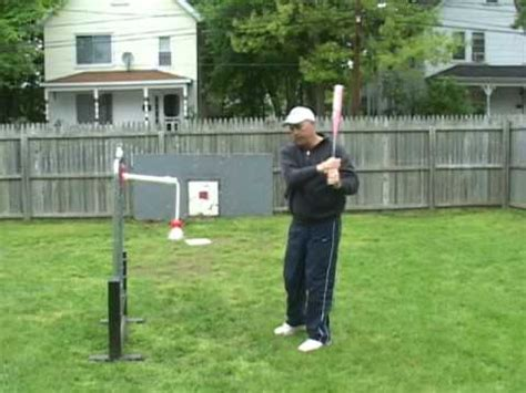 swing and hit the hit rope a good batting practice swing trainer for