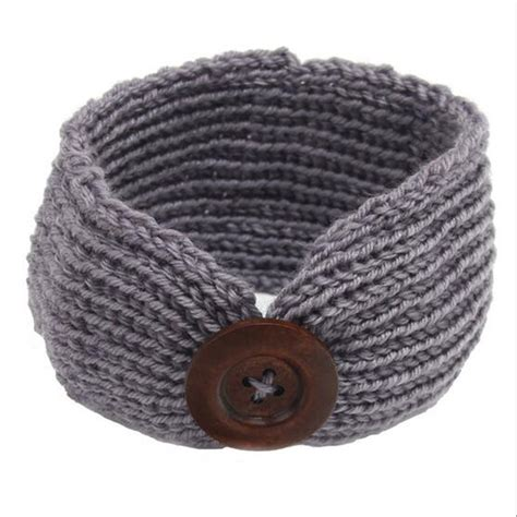 knitted headbands pattern with button popular knit baby headband pattern buy cheap knit baby