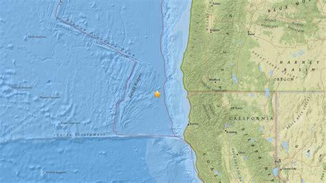 earthquake oregon 4 5 magnitude earthquake confirmed off oregon coast ktvl