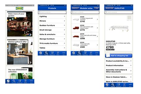 ikea redesign ikea app redesign on pantone canvas gallery