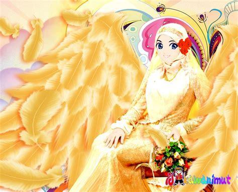 wallpaper animasi muslimah berjilbab wallpaper kartun muslimah bergerak impremedia net