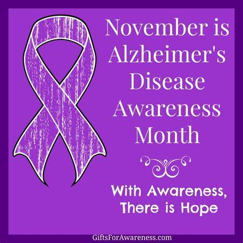 alzheimer s color november is alzheimer s disease awareness month spread