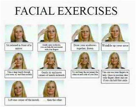 as i age i am getting jowls what hair style looks good do the facial exercises beautysecrets men and women