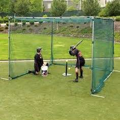 Backyard Baseball Backstop How To Build A Batting Cage Frame Boys Backyards And