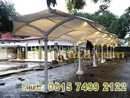 Tenda Membrane Per Meter Tenda Parking Area Projek Cirebon Tendakota