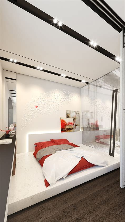 inside the bedroom 4 small apartments showcase the flexibility of compact design