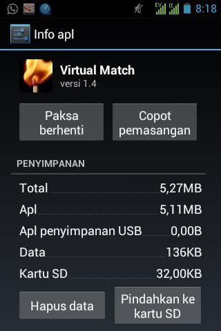 Kartu Memori Hp Android memindahkan aplikasi ke memori eksternal