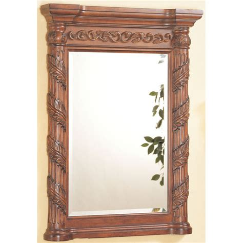 tuscan bathroom mirrors bathroom mirrors hand carved tuscany mirror by empire