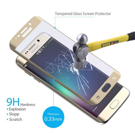 Zilla 3d Pet Screen Protector Samsung Galaxy S6 Edge Baru zilla 3d tempered glass curved protect for samsung