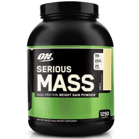Optimum Nutrition On Serious Mass 2 Kg Repack Trial Size Weight Gainer on optimum nutrition serious mass 2 7kg 2700g 6lbs weight