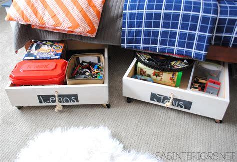 rolling under bed storage diy rolling underbed wood storage cart jenna burger