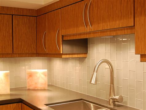 kitchen backsplash tile ideas subway glass glass subway tile kitchen backsplash there are many