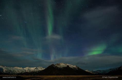 iceland northern lights march 2018 rajiv shyamsundar toehold travel photography