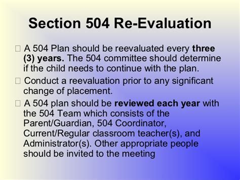 section 504 accommodation plan section 504