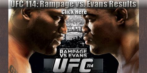 ufc  results   fight coverage  rampage