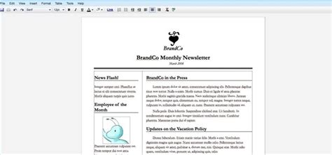 How To Create A Newsletter With Google Docs Techwalla Com Newsletter Templates Docs