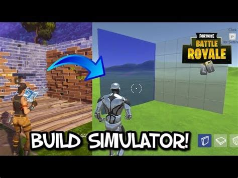 fortnite building simulator new fornite builder simulator practice building skills