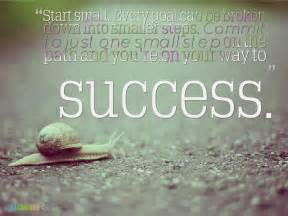 Coaching tip start small every goal can be broken down into small