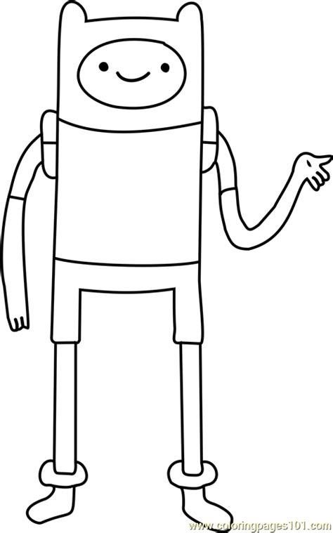 printable coloring pages human finn the human coloring page free adventure time