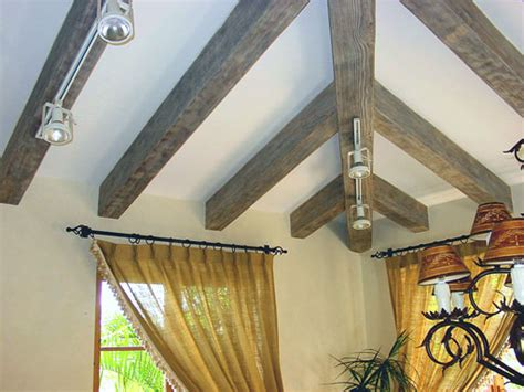 staining and painting wood beams faux wood workshop