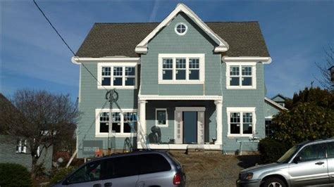 sherwin williams exterior paint colors retreat and dove white trim exterior view