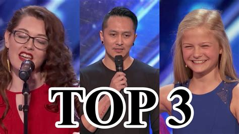 american best talent top 3 best auditions america s got talent 2017