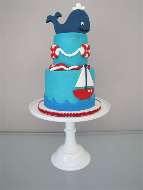 Nautical Baby Shower Cakes by Nautical Baby Shower Cake Cakecentral