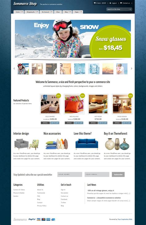 sommerce shop wordpress theme wptopthemes