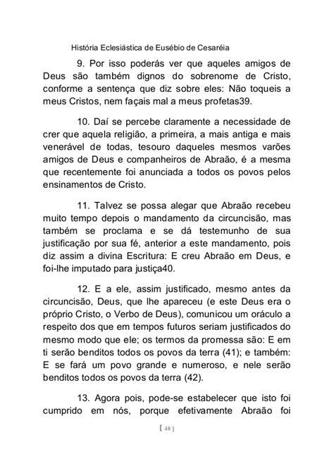 HISTÓRIA ECLESIÁSTICA DE EUSÉBIO - VOLUME I