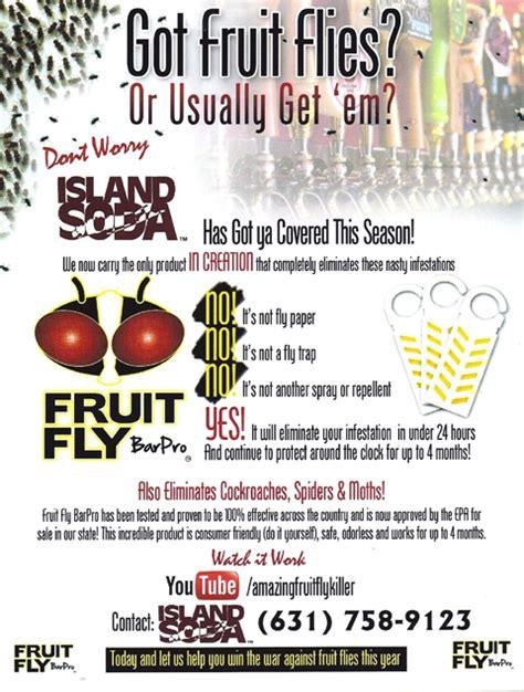 fruit fly bar pro fruit fly bar pro island soda systems