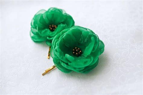 wedding hair accessories green sale green hair flowers wedding hair accessories green