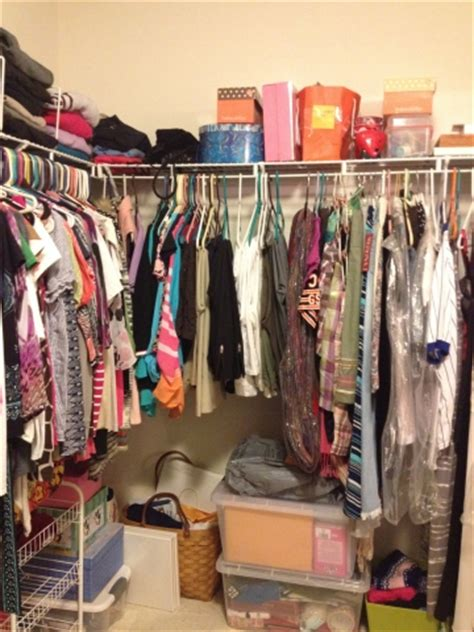 Cluttered Closet by Organize Bedroom Closet The Innovative Organizer