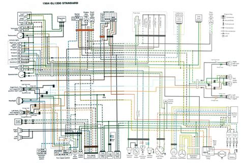 honda gl1000 goldwing wiring diagram get free image