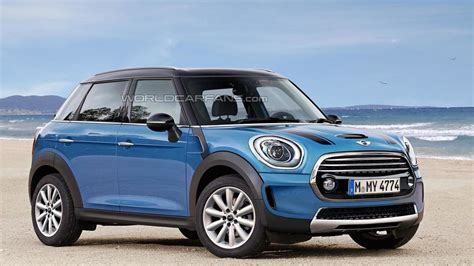 Mini 1 Second second generation mini countryman render shows plausible design