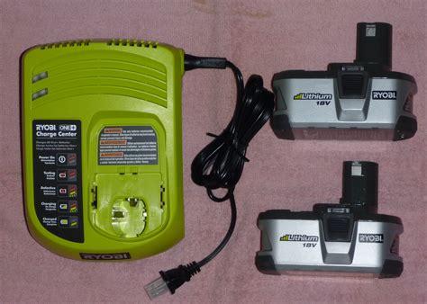 ryobi 18v battery charger manual two ryobi one p104 18v lithium batteries charger new ebay