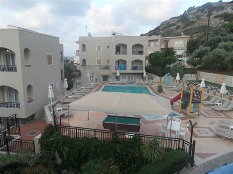 view from our room picture of rainbow apartments stalis