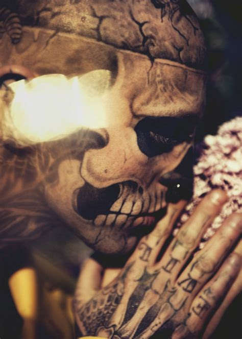 zombie boy tattoo rick genest by mateusz stankiewicz for fashion magazine