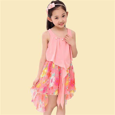 Aliexpress com buy fancy summer beach dress for girl kids child