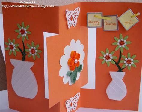 how to make teachers day card 17 best ideas about handmade teachers day cards on