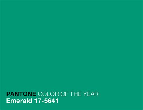 pantone color of the year for 2013 emerald an appealing