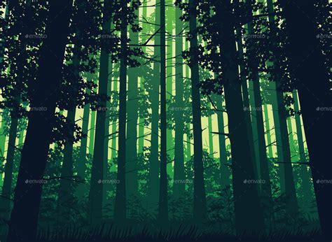 landscapes  deep forest  novemberseventeen