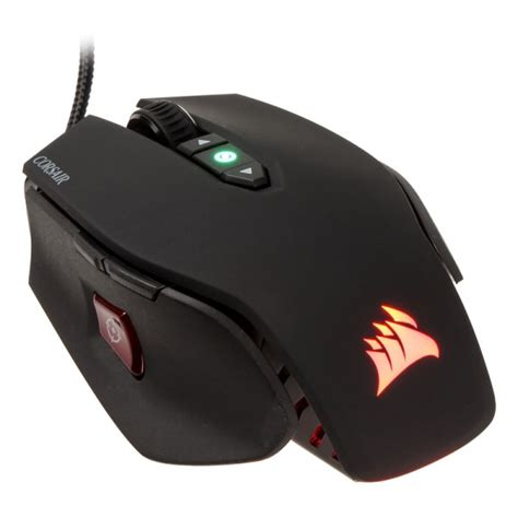 Corsair M65 Pro Rgb Mouse corsair gaming m65 pro rgb fps laser gaming mouse black gamo 662 from wcuk