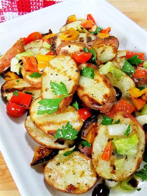 grilled potato salad recipe dishmaps